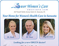 Swor Women's Care Magazine Ads