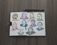 Drawings - Game of Thrones