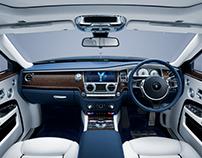 Rolls Royce Ghost Interior - 2017