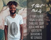 T-Shirt Mock-Up Vol.24 2017