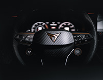 Interieur Shoots of the all new Cupra Formentor