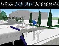 Big Blue Moose