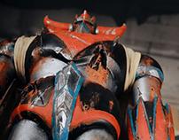 Grendizer Ultra Damaged