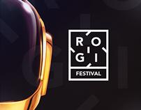 Rogi Festival - Webdesign & Branding