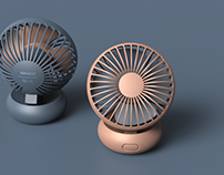 Stay cool this summer with mini fan of MINISO