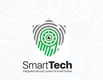 SmartTech Logo | integrated security system