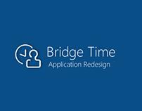 Bridge Time- Meeting Scheduling ERP App UX Redesign