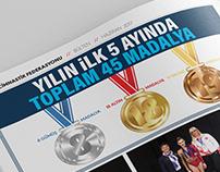 Türkiye Cimnastik Federasyonu Haziran 2017 Bülteni