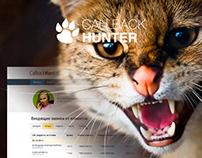 UI for the CallbackHunter user account v.01