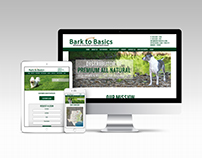 Bark to Basics Website Design