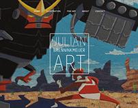 Julian B. Art - Branding & Website