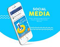 Social Media - Bagóvit Solar Pantalla