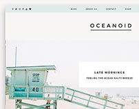 Oceanoid - Travel & Lifestyle Theme