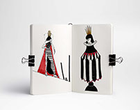 "Sketches for ""Chess"". An Illustrated Book.."