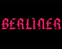 BERLINER - Fontdesign