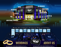 Redesign of Admit One DJ's Website