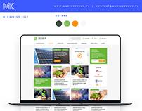top-oze / webdesign / portal