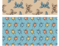 Creepy Crawlies Repeat Patterns