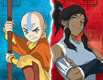 Avatar the Last Airbender / The Legend of Kora RPG