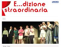 E...dizione straordinaria - web site