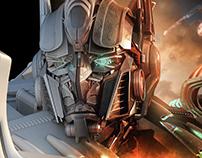 Castrol GTX.. Beat The Heat-Full CGI
