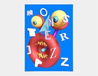 MonsterJazz Motion Poster