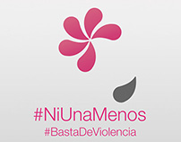 #NiUnaMenos spontaneous illustration