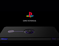 AOXD - PlayStation inspired gaming phone.
