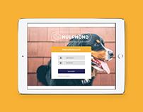 Werving app HulpHond | UI / UX Design