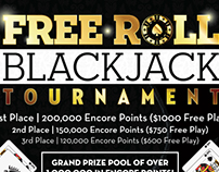 Blackjack Tournament Poster