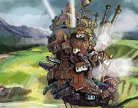 Howl's Moving Castle Fan Art