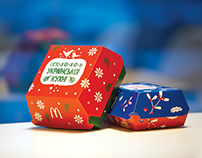McDonald's New Year Boxes for Ukrainian Season