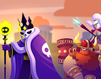 Battleplans - Character Design