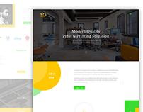 Press Landing Page Concept