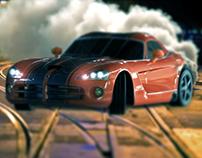 "Render ""Dodge Viper SRT 10"""