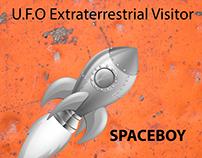 U.F.O Extraterrestrial Visitor