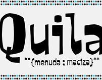 Quila – typeface