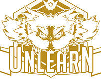 Suggestion Logo embroidery // UNLEARN