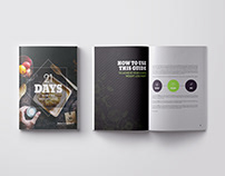 Health and Fitness Book Cover and Layout Design