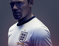 Nike England Kit Launch Retouch
