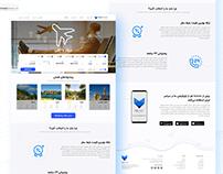 FoxTravel Agency Landing pageUI/UX