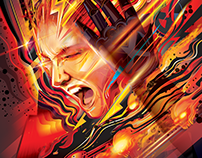 DARK PHOENIX -Official DVD Vectors - Marvel