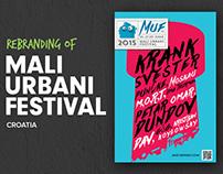 Mali Urbani Festival Rebranding
