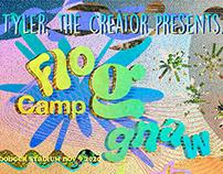 Camp Flog Gnaw: Poster Design