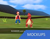 Pokémon RPG for Nintendo 64 (Mockups)