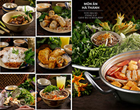 Traditional Hanoi food by Beo Oi restaurant