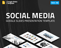 Social Media Marketing Google Slides Pitch Deck