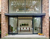 Brick Aperture House by Kreis Grennan Architecture