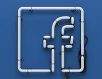 Facebook Neon