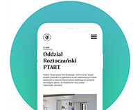 Web design - Polish Society of Anaesthesiology